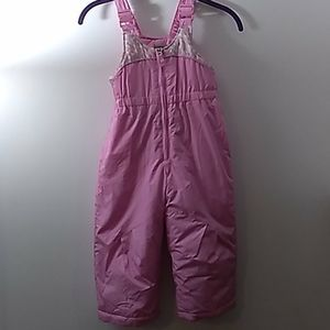 ZeroXposur pink 2T Snowsuit